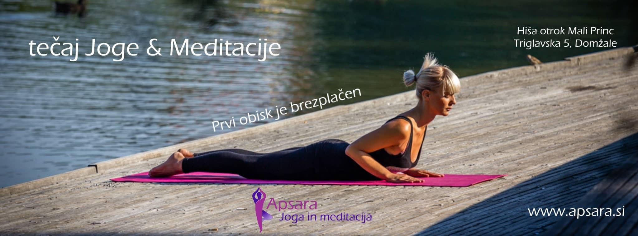 Joga in meditacija domžale